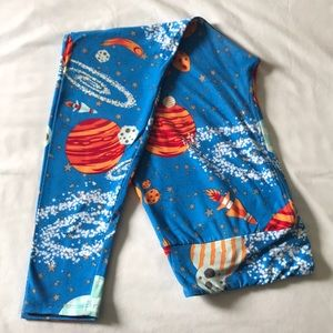 Lularoe planet leggings, TC